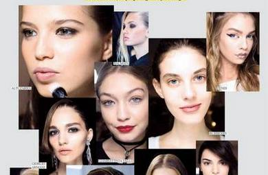 Moda Haftalarının Favori Makyaj ve Saç Stilleri