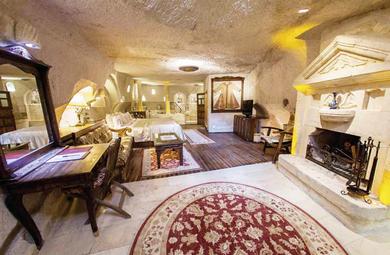 Mağarada Tatil: Gamirasu Cave Hotel