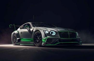 Bentley'in Yarış Otomobili