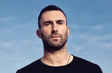 HE LOOKS, SOUNDS AND SMELLS GOOD, TOO! ADAM LEVINE