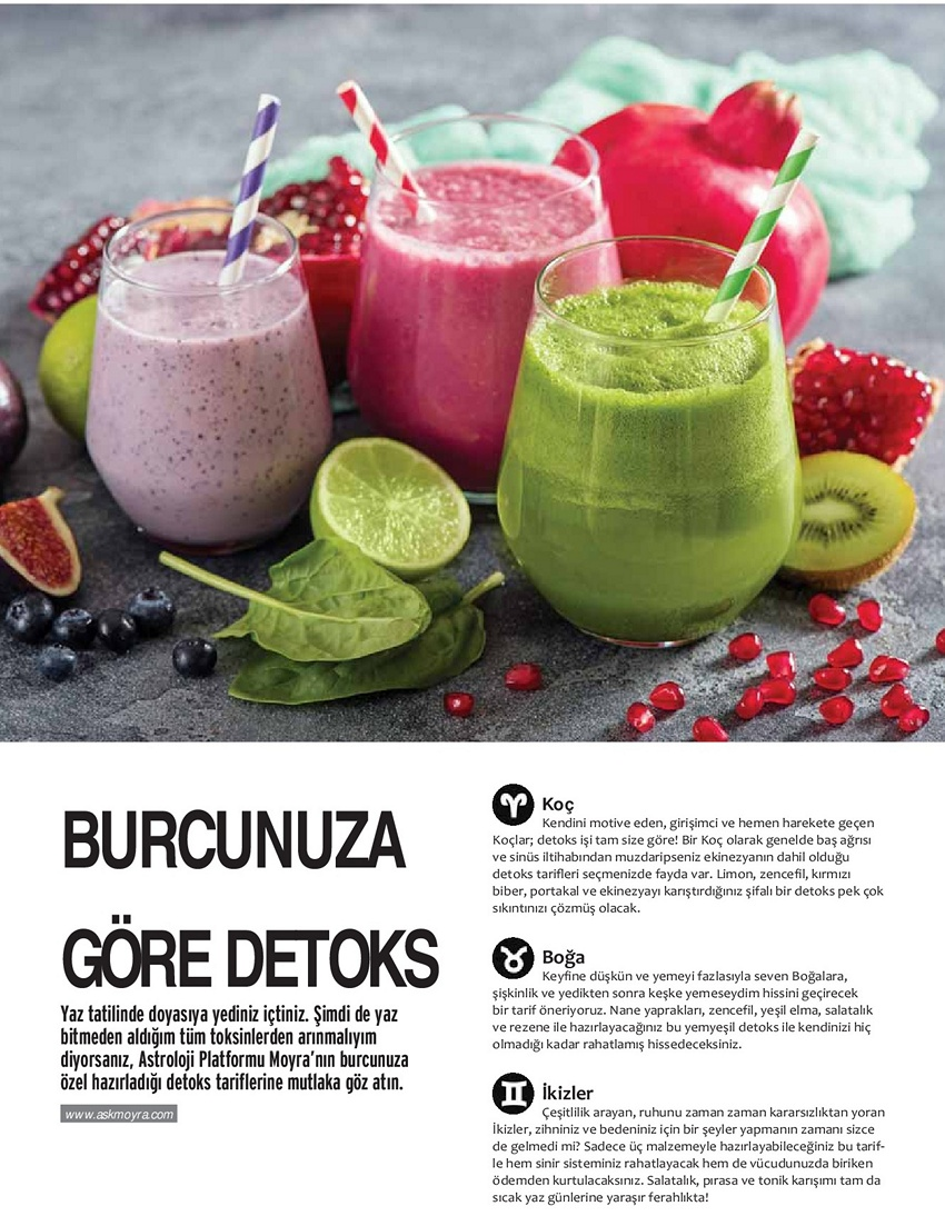 Fashion Travel Magazine Burcunuza G Re Detoks
