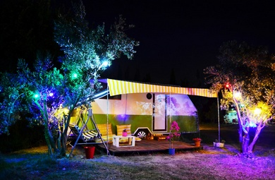 CAMPING AND 'GLAMPING' IN TURKEY